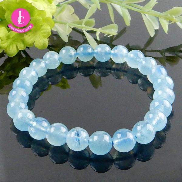 天然海藍寶手珠