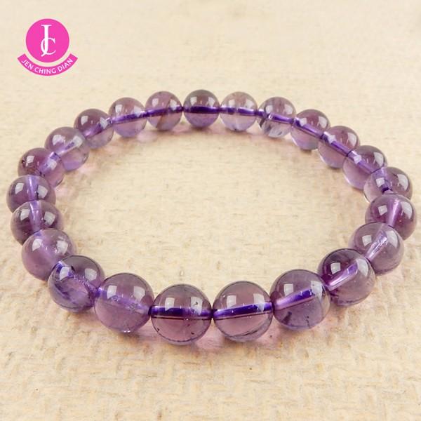 天然紫水晶手珠