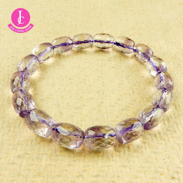 天然紫水晶切角手珠