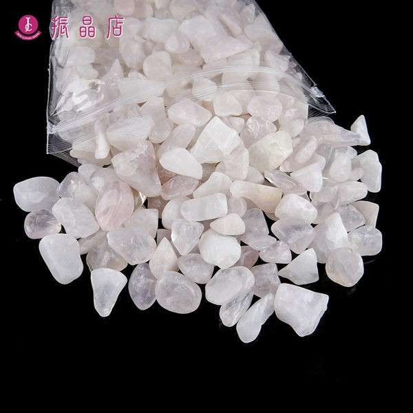 天然粉晶碎石(中)1公斤裝