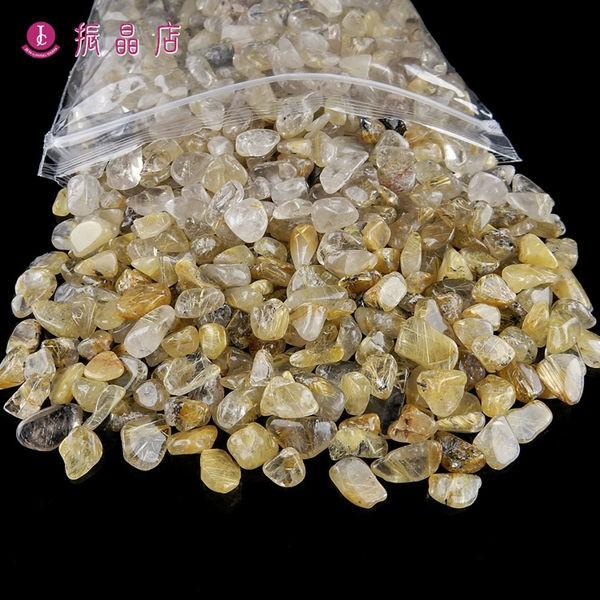 天然鈦晶碎石(小)1公斤裝