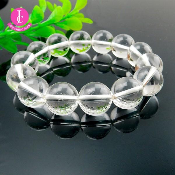 天然白水晶手珠